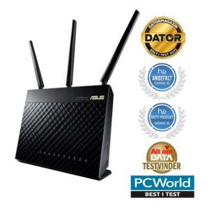 bedste router trådløs