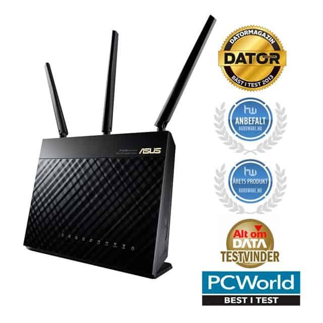 bedste billige router