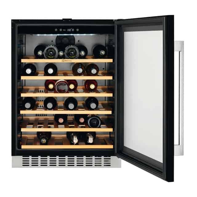 Vinkøleskab Test 2018 → Findes de lækreste og bedste vinkøleskabe