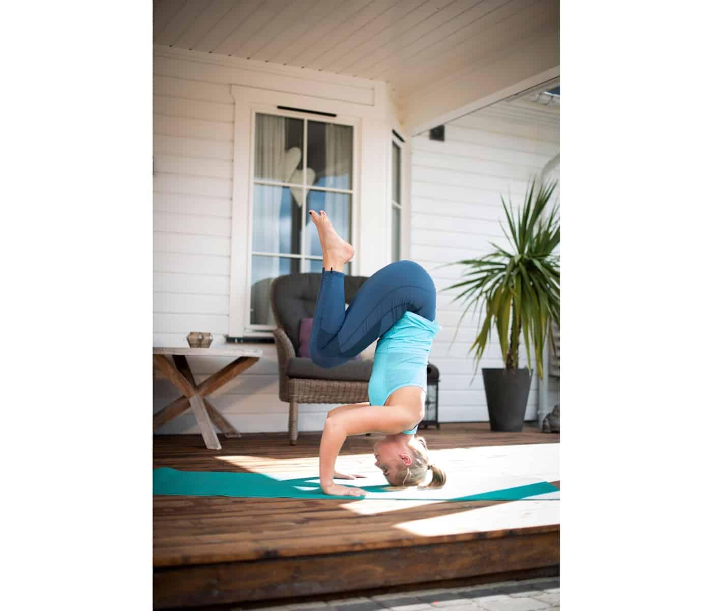 Tyk yogamåtte